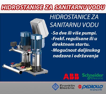 Hidrostanice za sanitarnu vodu