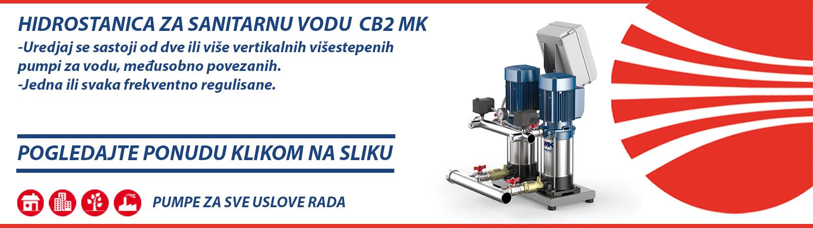 Hidrostanica za sanitarnu vodu CB2 MK Pedrollo