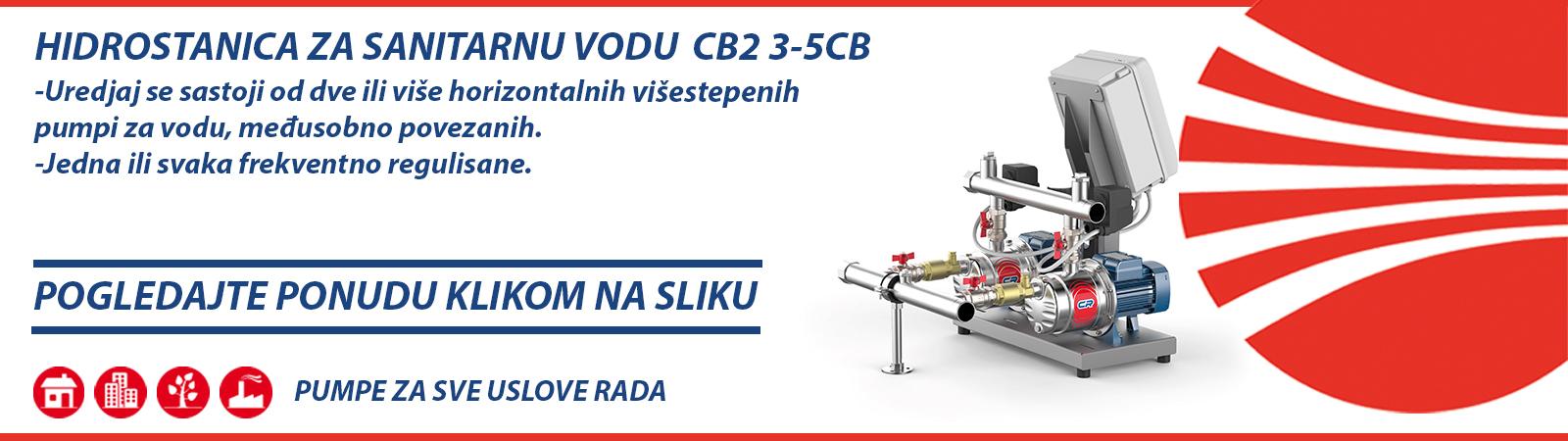 Hidrostanica za sanitarnu vodu CB2 3-5CB Pedrollo