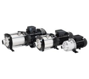 Višestepene horizontalne pumpe
